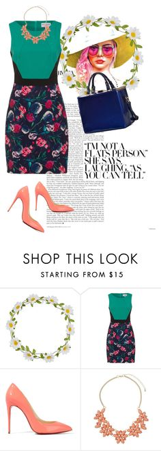 """colorful, yet mysterious"" by foxqueen ❤ liked on Polyvore featuring Carole, Christian Louboutin, Dorothy Perkins, Dasein, women's clothing, women, female, woman, misses and juniors"