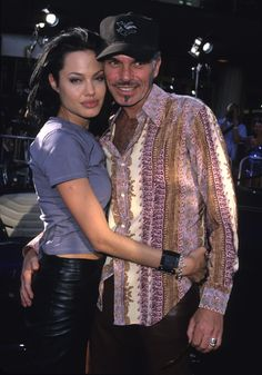 """Love Seeming somewhat as """"Crude & Zealous"""" the union Billy Bob & Angelina had was truly hollywood's one of a kind. It gave Billy the energy and youth he needed to his soul ..it gave Angelina the rush and passion she craved at such a young age. Nonetheless its etched in stone. *Gemini & Leo*"""