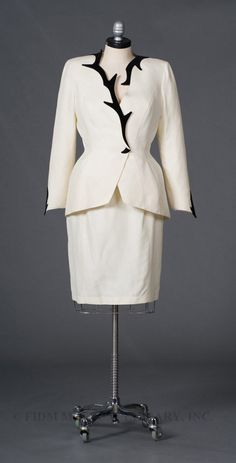 Woman's Suit by Mugler, Thierry -- 1998 - Reminds me of Lil