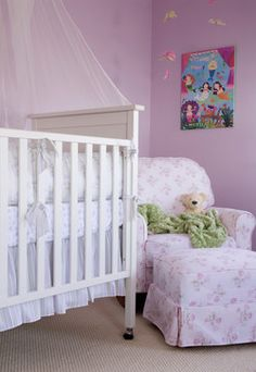 Celebrity Nursery Marcia Cross Traditional Kids Los Angeles Annette Tatum
