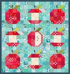 "Fun project for or EQ Mini! The files will open right up into your program. Click the ""View Sketchbook"" button. There you'll find the quilts, blocks and fabrics included in the project! Cute Quilts, Small Quilts, Mini Quilts, Quilt Baby, Mini Quilt Patterns, Summer Quilts, Quilt Modernen, Basket Quilt, Miniature Quilts"