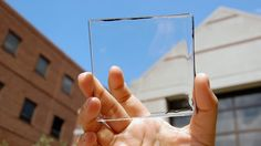 Next-Gen Solar Panels Are Nearly Invisible to the Naked Eye