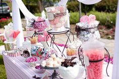 Style Me Pretty Candy Station
