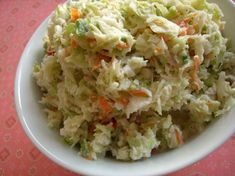 Lady's Coleslaw (Paula Deen) The Lady's Coleslaw Paula Deen) Recipe - - Lady's Coleslaw Paula Deen) Recipe - - 110717 Chef Recipes, Food Network Recipes, Great Recipes, Food Processor Recipes, Dinner Recipes, Cooking Recipes, Favorite Recipes, Family Recipes, Holiday Recipes