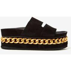 Jeffrey Campbell Jerez Suede Platform Sandal