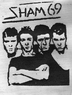 Sham 69 ''Band Photo'' Patch $1.45 #punk #music #punkpatches #clothing www.drstrange.com