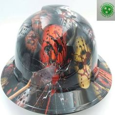custom construction hard hats