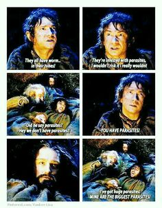 Bilbo is so done...