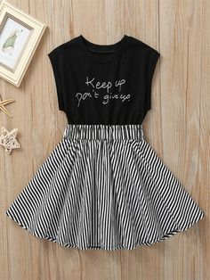Girls Fashion Clothes, Girl Fashion, Fashion Outfits, Kids Clothing, Cute Dresses, Girls Dresses, Dress Outfits, Girl Outfits, Frack