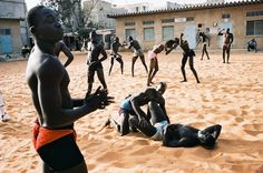 The series Senegal by Christophe Negrel