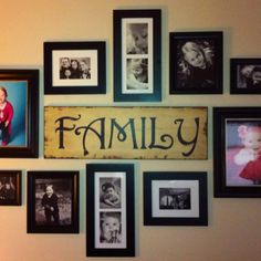 My family room wall.