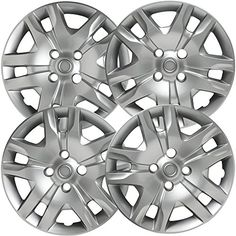 """Hubcaps for Nissan Sentra 2007-2016 Set of 4 Pack 16"""" Inch Silver , OEM Genuine Factory Replacement - Easy Snap On - Aftermarket Wheel Covers - http://automotive.wegetmore.com/hubcaps-for-nissan-sentra-2007-2016-set-of-4-pack-16-inch-silver-oem-genuine-factory-replacement-easy-snap-on-aftermarket-wheel-covers/"""