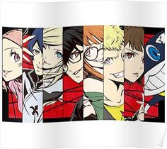 Character Persona 5 Poster