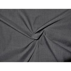 POLY/COTTON FABRIC SOLID CHARCOAL GREY. Send to a friend ...