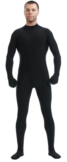 Loli Miss Mens Full Body Tights Suit Costumes Lycra Spandex Zentai Bodysuit for Halloween Party