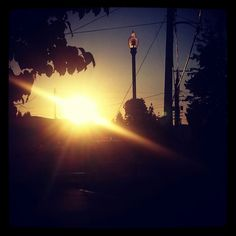 Orting sunset
