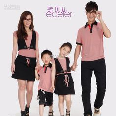 Wholesale Family Dress Alikes - Buy Fashion Summer Family Set Clothes for Mother And Daughter Skirt Pack Fake Second Pieces Summer, $66.96 | DHgate