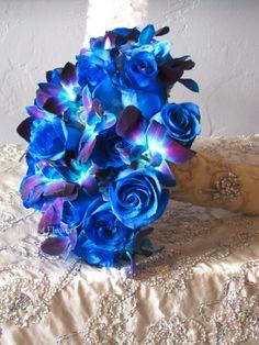 San Diego, Coronado, Del Mar, Wedding Florist and Planner | Indian Wedding Planner and Florist: Blue Bouquet