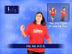 """▶ First Grade Sight Words - His song - YouTube  For FIRST grade. Activity: spell the word in the air and do the movements of the song. Lead Topics: how to spell """"his"""" and definition of """"his"""""""