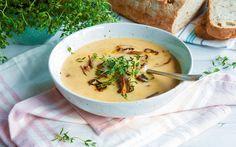 Oppskrift på kremet soppsuppe | Enkel og rask oppskrift fra Melange