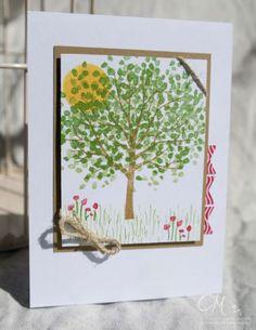Caros Bastelbude: Liebling des Monats, Stampin' Up!, Baum der Freundschaft