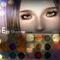 Português - Eyeshadow at S Club Privee - Sims 3 Finds