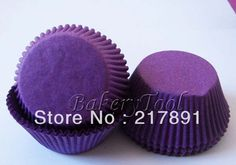 40gsm Greaseproof Eco Friendly Paper purple Cupcake Liners, baking cups, muffin cups Cake Tools free shipping Base:5cm Wal:3cm-in Cake Molds from Home  Garden on Aliexpress.com $4.59