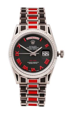 Colorful Coatings For Most Metals: Rau-Tech Custom Rolex And Other Watches Watch Releases Best Watches For Men, Luxury Watches For Men, Popular Watches, Rolex Gmt, Rolex Submariner, Stylish Watches, Cool Watches, Man Watches, Elegant Watches