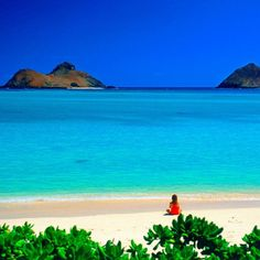 Lanikai Beach on Oahu, Hawaii!