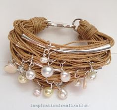 Pearl Wrap Bracelet AllFreeJewelryMaking.com - Learn How to Make Jewelry, Free Bead Patterns, Find Free Jewelry Making eBooks, and More!