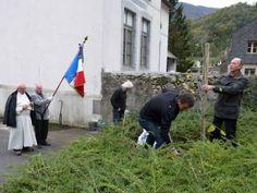 Un arbre de la paix a été planté à Sarrance à l'occasion des commémorations du 11 novembre