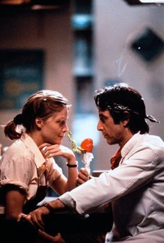 "Al Pacino y Michelle Pfeiffer en ""Frankie And Johnny"", 1991"