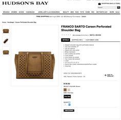 Hudson Bay, Franco Sarto, Male Beauty, Kids Toys, Shopping Bag, Shoulder Bag, Jewels, Accessories, Childhood Toys