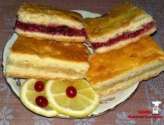 Лимонный и клюквенный пирог (универсальный рецепт)