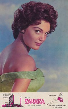 Connie Francis is an American pop singer and the top-charting female vocalist of the late 1950s and early 1960s. Although her chart success waned in the second half of the 1960s, Francis remained a top concert draw. Connie appeared at the Sahara Hotel on May 13,14 & 15th - 1966...