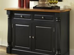 Elegant Black Sideboard Buffet | Sideboards & Buffet