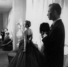 Charles James photographed by Cecil Beaton, 1955