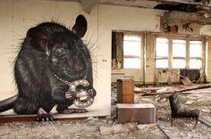 brilliant!    Street art: Graffiti of SmogOne