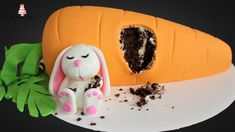 Fat Easter Bunny Carrot Cake Tutorial!