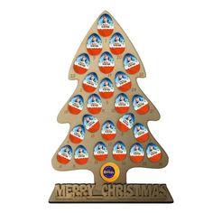 Personalised Advent Calendar Kinder Egg Terrys Chocolate Orange Christ – Lasercut Craft