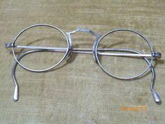 0226243b28 ANTIQUE SILVER METAL 12 K. 1 10 T   P EYEGLASS FRAMES 1920 s - 1930 s   Antique  Eyeglasses