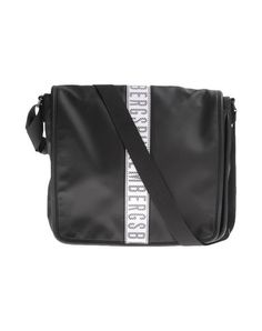 BIKKEMBERGS Across-body bag. #bikkembergs #bags #shoulder bags #hand bags #leather #satchel #