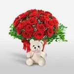 www.cicekdukkan.net Send Roses, Send Flowers Online, Online Florist, Cute Teddy Bears, Carnations, Fresh Flowers, Special Day, Orchids, Bouquet
