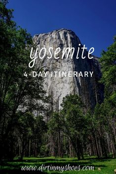 Take a stress-free vacation with this Yosemite National Park trip itinerary. Easily discover all the best things to do in Yosemite, stay away from crowds and traffic, and have a fun adventure! Yosemite Vacation, Yosemite Lodging, Best Family Vacations, Free Vacations, Fun Adventure, Greatest Adventure, Yosemite National Park, National Parks