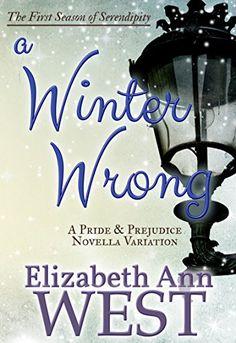 A Winter Wrong: A Pride and Prejudice Novella Variation (Seasons of Serendipity Book 1) by Elizabeth Ann West http://www.amazon.com/dp/B00M0TSS6C/ref=cm_sw_r_pi_dp_UIQgwb1VJ1JQV