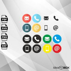 Excited to share the latest addition to my #etsy shop: Contact icons bundle SVG VECTOR, Clipart Svg Files, printing design, png, pdf, DXF, Insta Download http://etsy.me/2nr1Z2h #supplies #printingprintmaking #contacticon #phoneicon #mailicon #phonesvg #phonevector #mai
