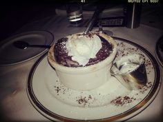Chocolate Souffle @ Arroyo Chop House