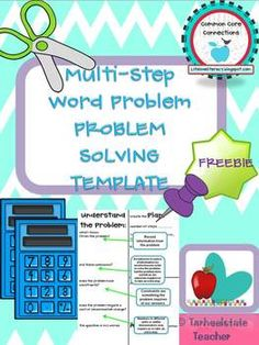 How to solve multi step word problems