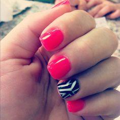 My awesome new Shellac manicure!