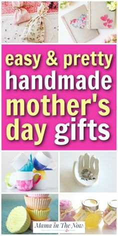 Mother's Day Gifts & Crafts : 14 Lovingly Handmade Mother's Day Gifts Do you like to make homemade gifts for your mom on Mother's Day? Diy Crafts For Kids Easy, Mothers Day Crafts For Kids, Mothers Day Presents, Mothers Day Cards, Toddler Crafts, Happy Mothers Day, Toddler Play, Toddler Activities, Kids Crafts